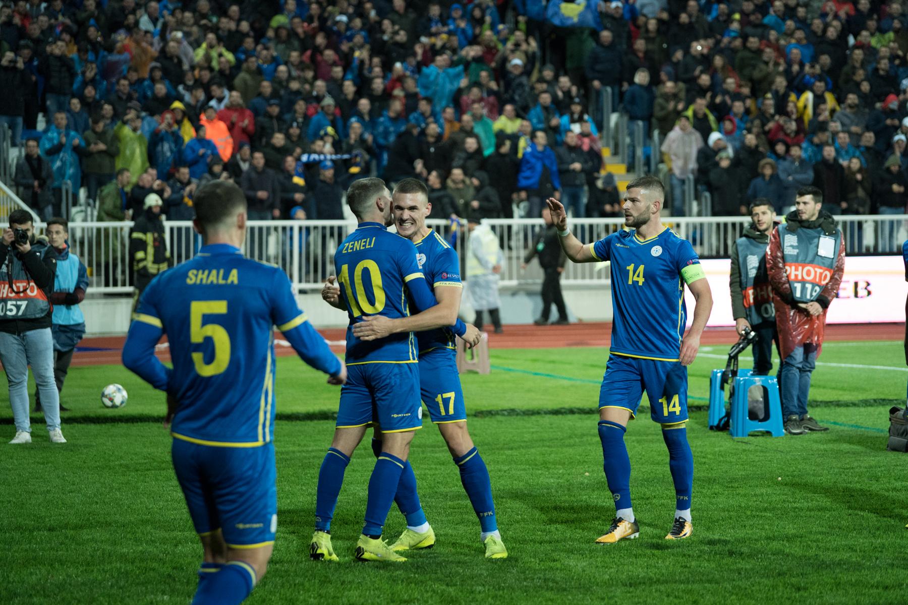 Kosova – Lituania, formacionet zyrtare