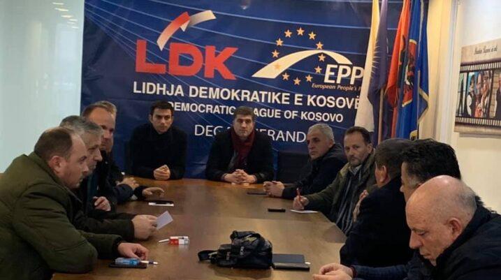 LDK dega në Suharekë: Koalicioni me VV kërkesë qytetare