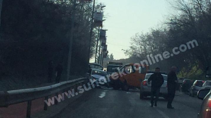 Tre të lënduar nga dy aksidente në Suharekë