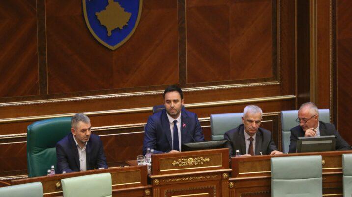 Kryetari i Kuvendit, Konjufca thërret mbledhjen e parë të Kryesisë së Kuvendit