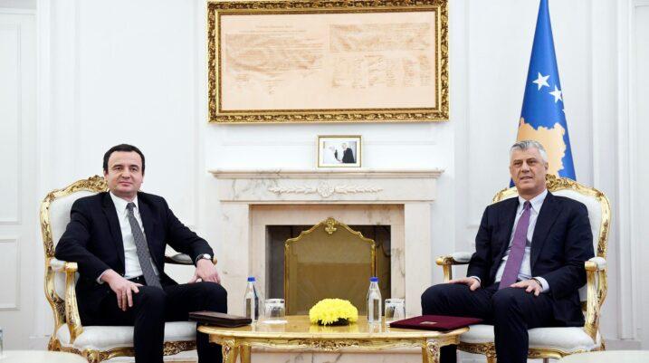 S'ka takim Thaçi – Kurti, dekreti dërgohet me letër në Kuvendin e Kosovës