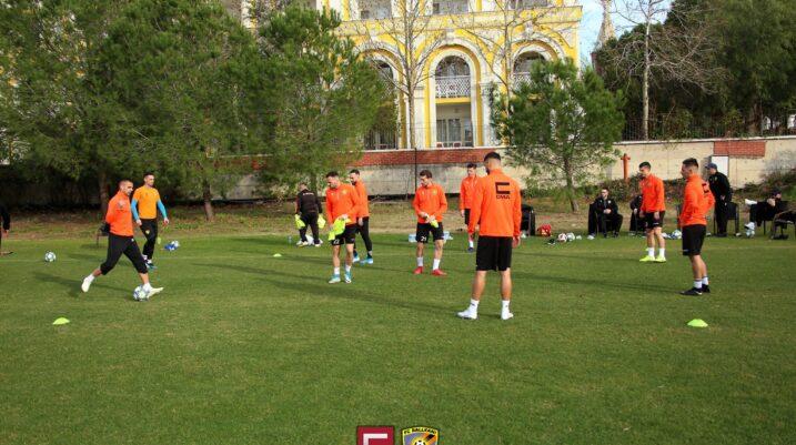 [VIDEO] 'Luanët' e Ismet Munishit në stërvitje në Antalya