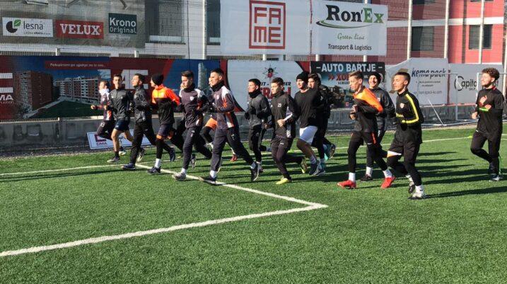 Juniorët e Ballkanit filluan fazën përgatitore në Suharekë, të dielën zhvillohet ndeshja ndaj Ferizajt