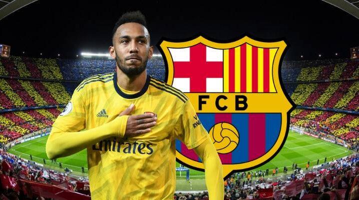 FC Barcelona e do në huazim Aubameyangun