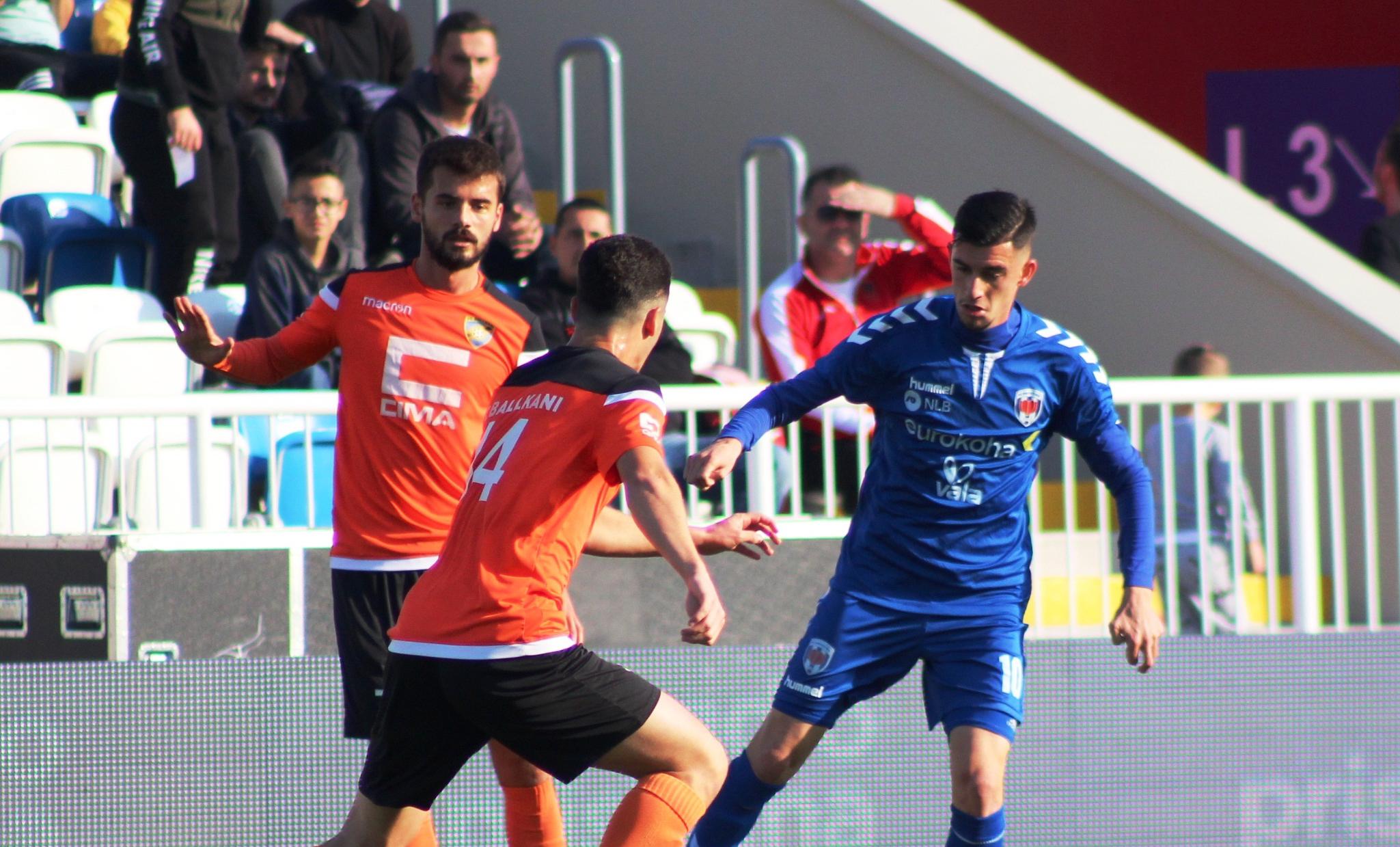 Formacionet zyrtare të derbit FC Prishtina – FC Ballkani