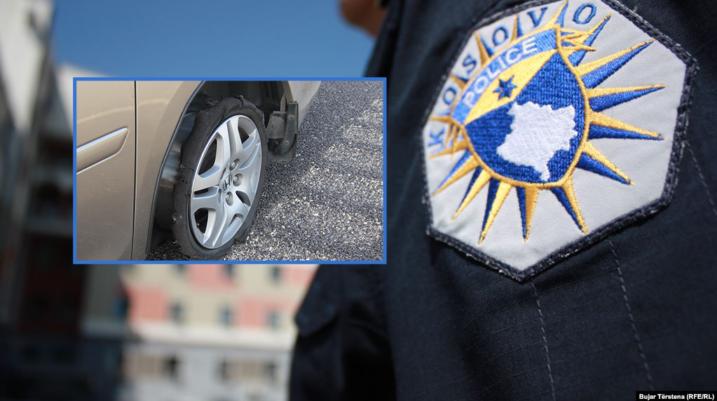 Prizren: Pas një mosmarrëveshje ia shpërthen gomat e automjetit, arrestohet i dyshuari