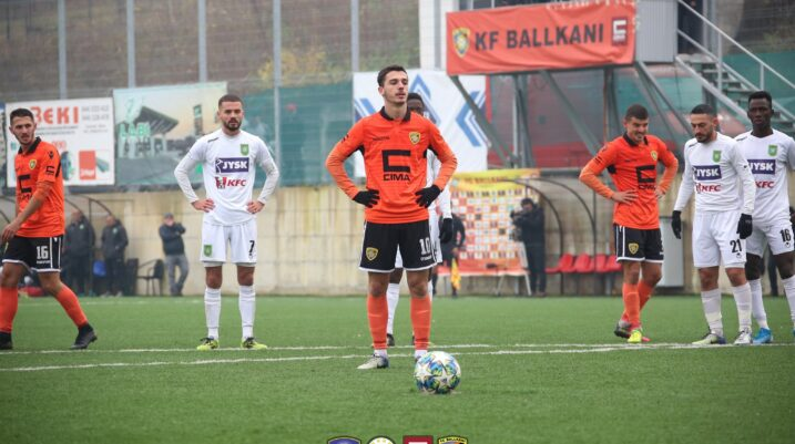 Baftiu i FC Ballkanit top golashënuesi në Superligën e Kosovës
