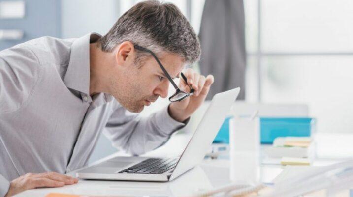 Si ta përballoni sindromën e shikimit kompjuterik