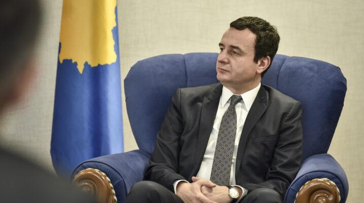 Kurti: Integrimi Evropian e anëtarësimi në NATO, prioritet i qeverisë së Kosovës