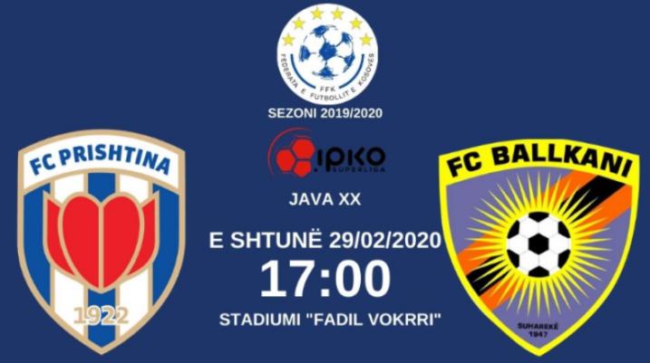 Prishtina publikon çmimin e biletave për derbin ndaj FC Ballkanit