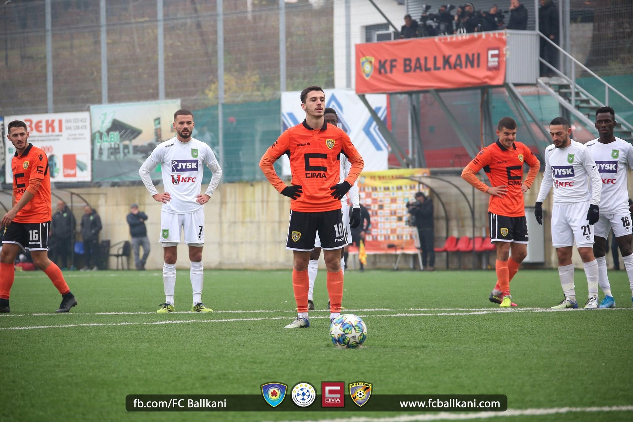 Blend Baftiu shpresa e FC Ballkanit ndaj FC Prishtinës