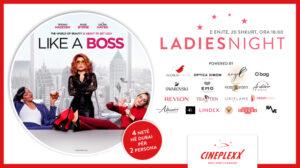 Për eventin Ladies Night, Cineplexx dhuron udhëtim 4 ditor në Dubai, si dhe shumë shpërblime tjera në të gjitha sallat