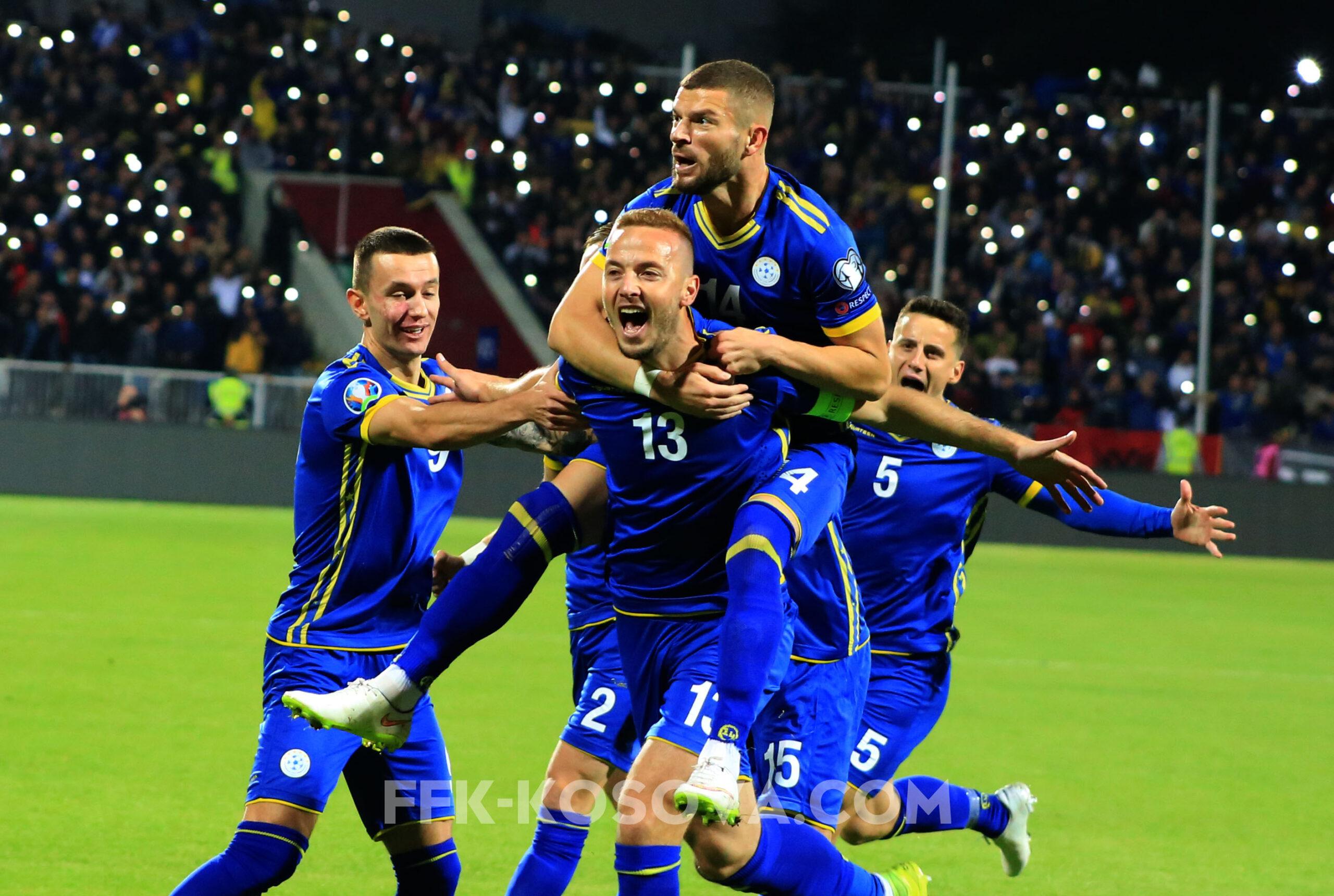 Kombëtarja e Kosovës publikon listën e futbollistëve për ndeshjet e marsit