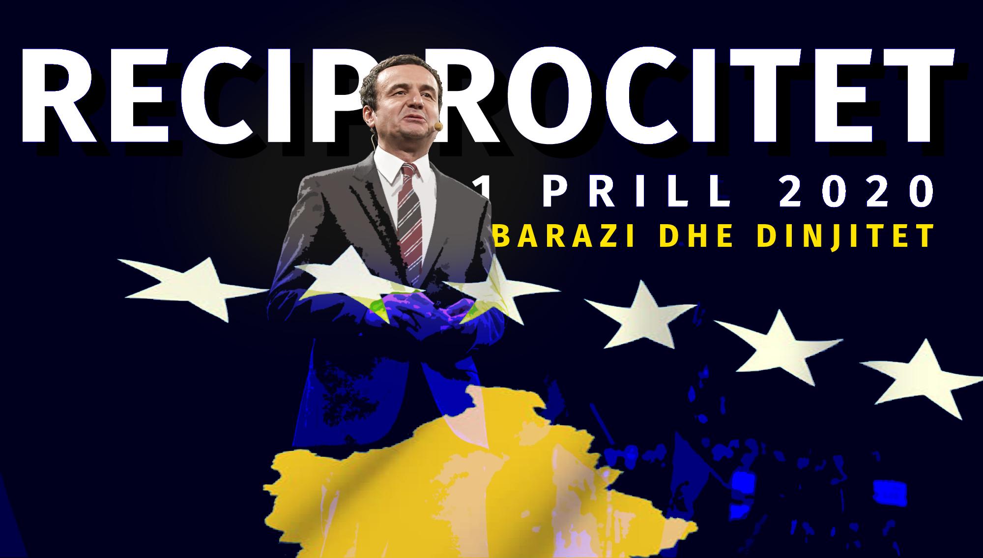 Qeveria Kurti paralajmëron kthimin e reciprocitetit me Serbinë
