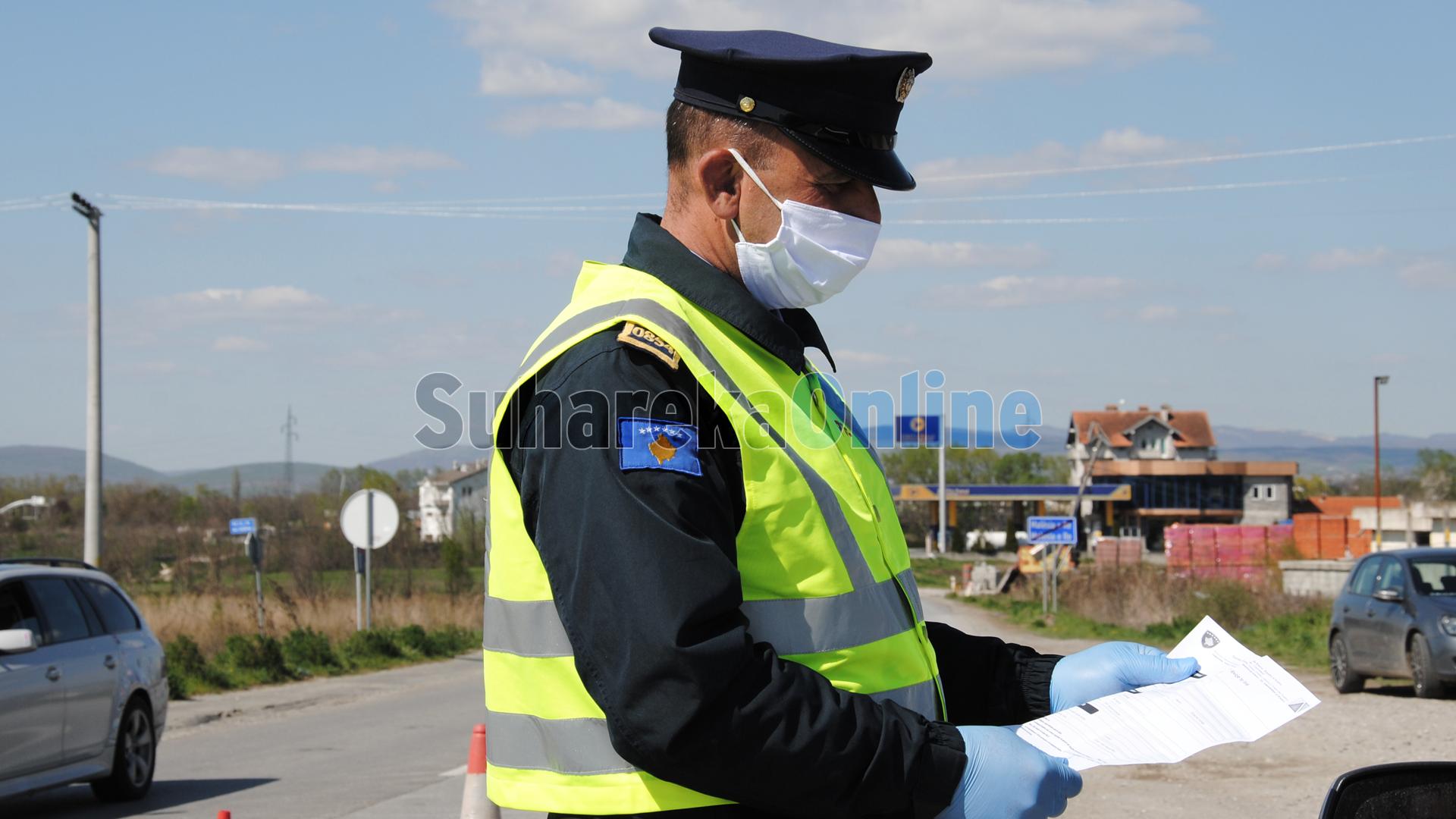 Policia e Kosovës shqipton mbi 14 mijë tiketa trafiku për tetë ditë