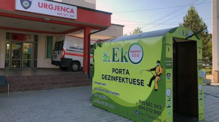 Një rast me COVID-19 në Suharekë, 61 në tërë Kosovën