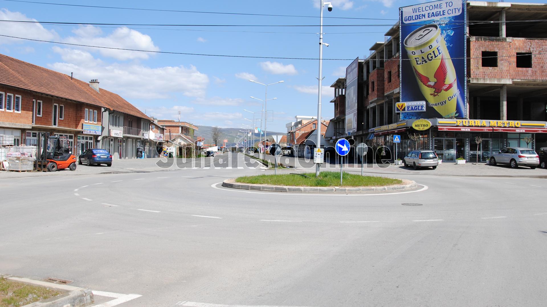 Aksident trafiku në Shirokë, njëri nga dy personat e lënduar dërgohet në spitalin e Prizrenit
