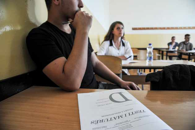 Testi i maturës me rekomandim të MSh-së dhe IKShPK-së mbahet me 29 gusht