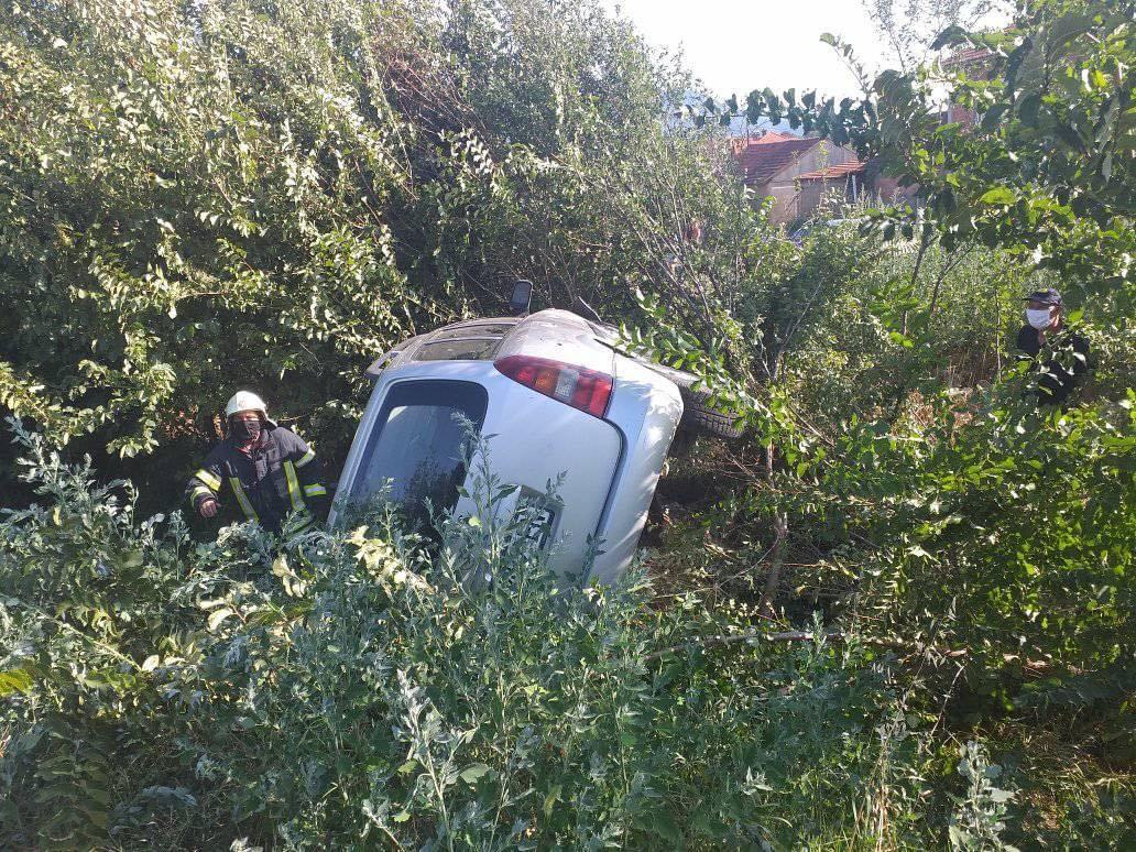 Vetaksident në hyrje të fshatit Sopijë, fatmirësisht pa pasoja në njerëz