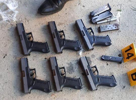 Policia e Kosovës sekuestron mbi 40 armë gjatë një operacioni policor