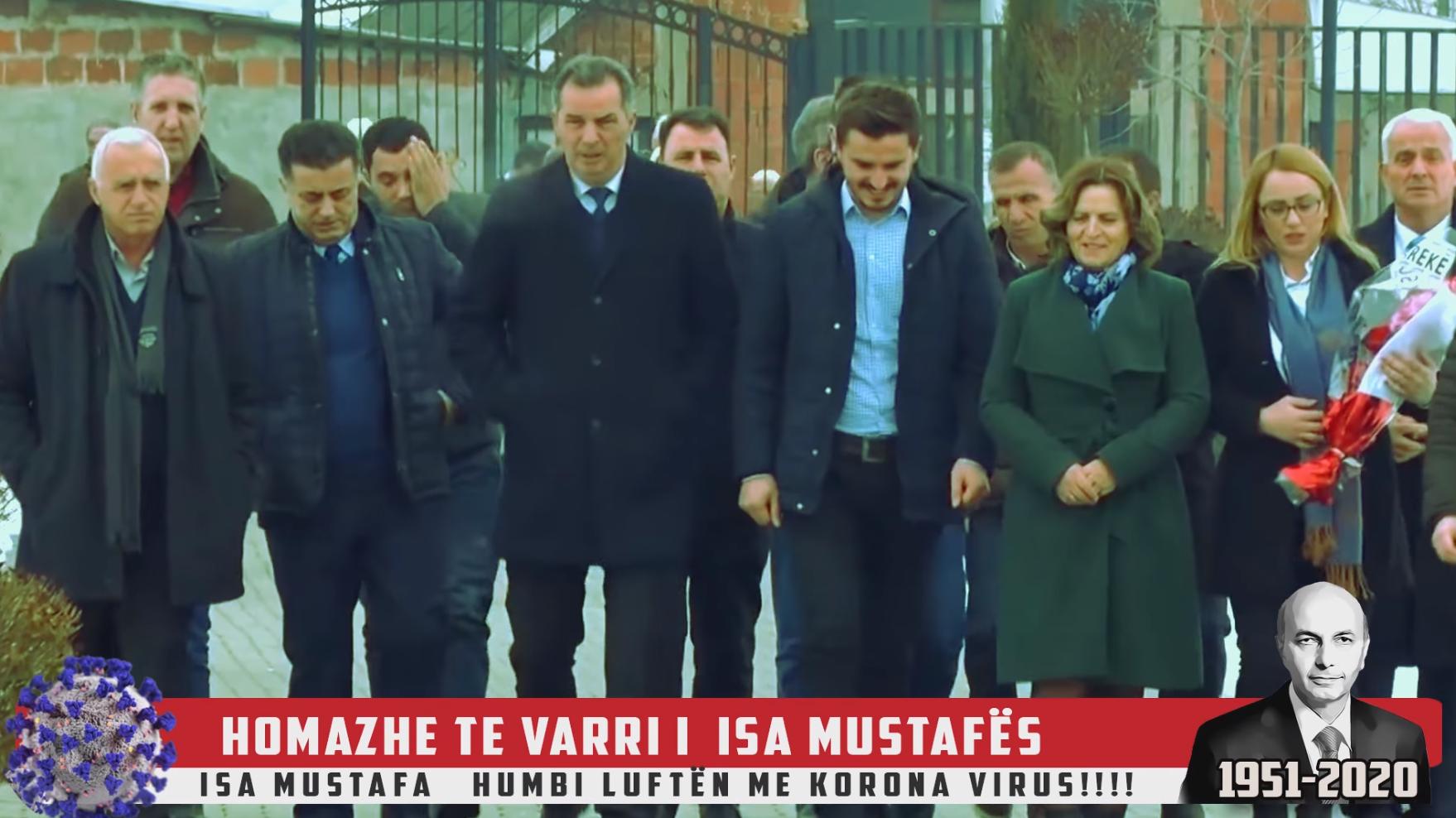 Arrestohet personi që shpërndante video të rreme se Isa Mustafa ka vdekur nga COVID-19