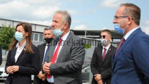 Zëvendës Kryeministrja Balaj dhe Ministri Krasniqi vizituan sot Suharekën