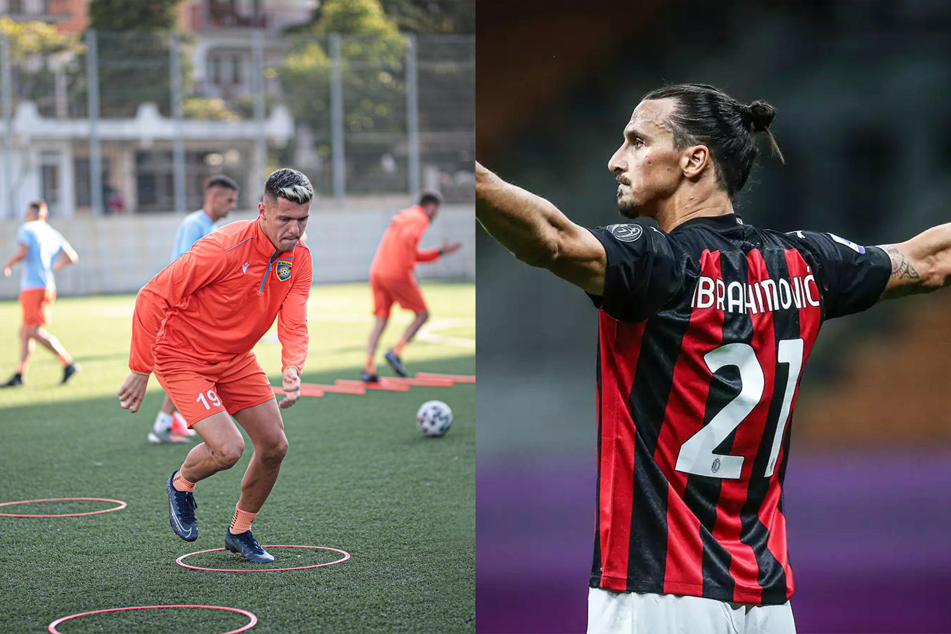 Daku i FC Ballkanit për Ibrahimovic: Lider i vërtetë, inspirim i vërtetë!