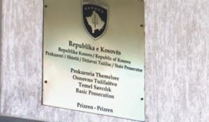 Prokuroria e Prizrenit për 24 orë ka ndaluar një person dhe ka kërkuar paraburgim për një tjetër