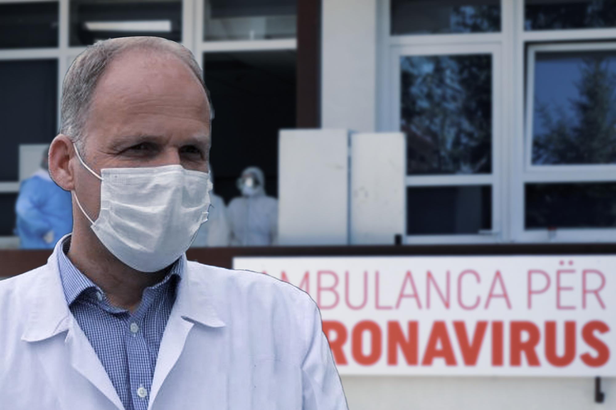Krasniqi: Kemi rritje të rasteve pozitive me COVID-19, po përgatisin edhe klinika tjera për ta përballuar fluksin e pacientëve