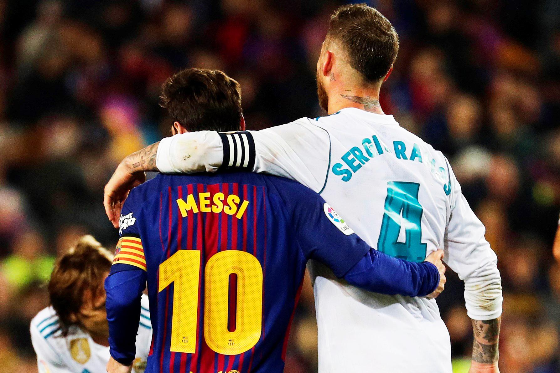 Ramos i hapur për bashkimin me Messin tek PSG-ja