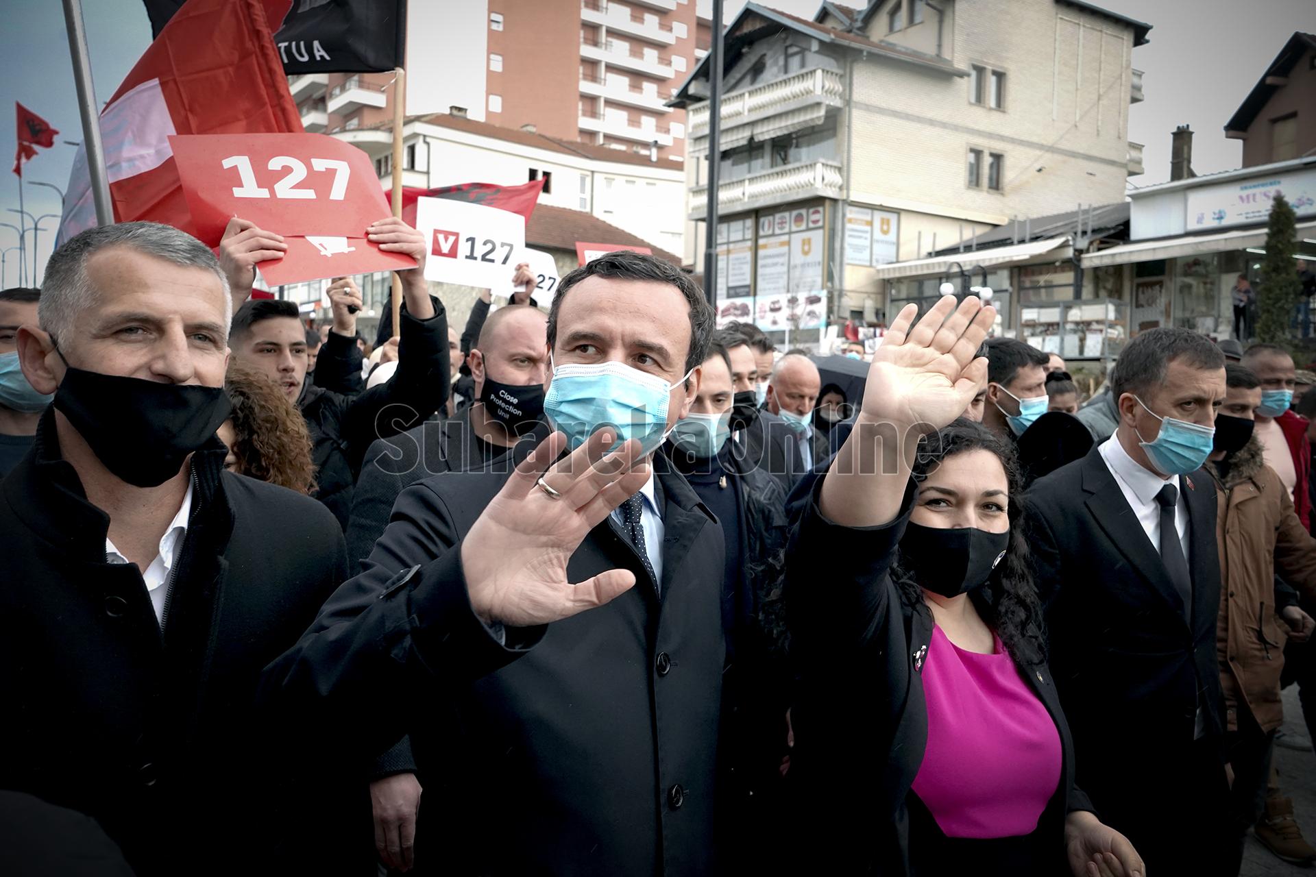 Kurti partive politike: Ose mbi 80 vota në kuti për Vjosa Osmanin, ose mbi 500 mijë vota në kuti për LVV