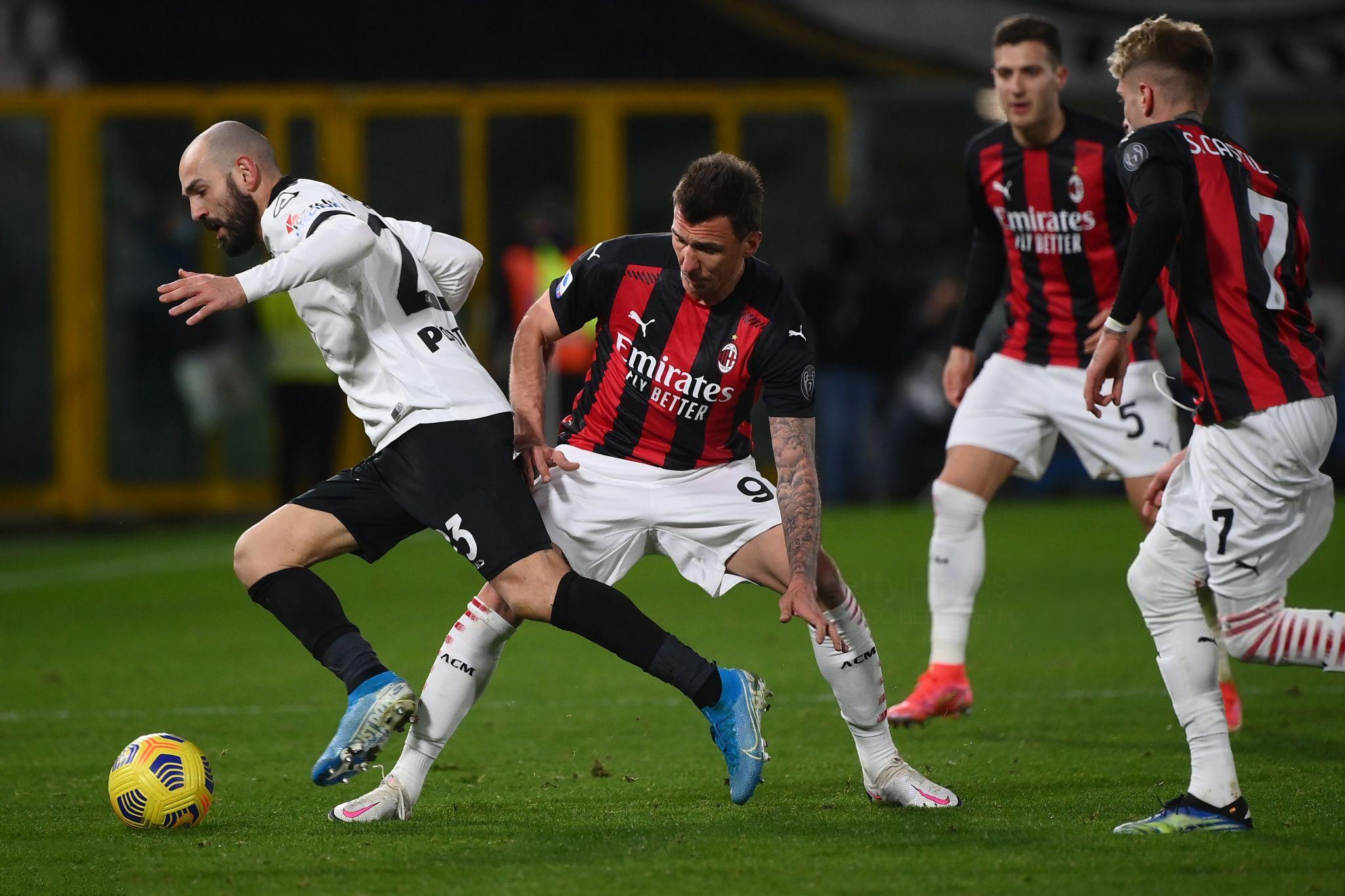 Pas më shumë se një viti, Milan u mposht si mysafir në Serie A