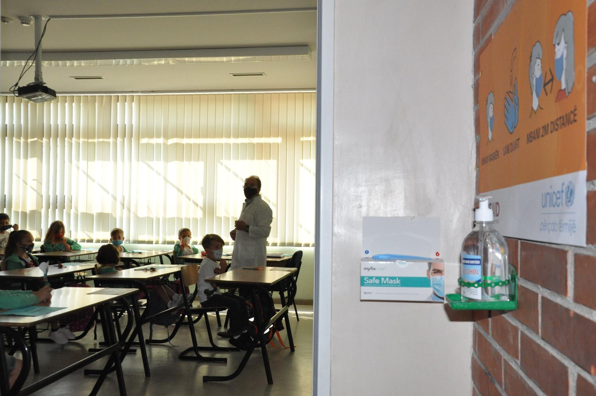 MASH iu bën thirrje institucioneve arsimore: Respektoni masat anti-COVID