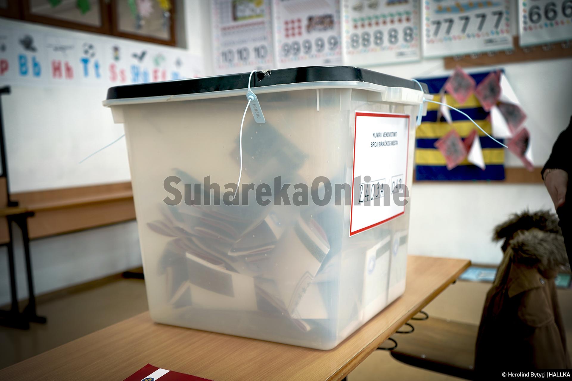 Sot shpallen rezultatet përfundimtare të zgjedhjeve të 14 shkurtit