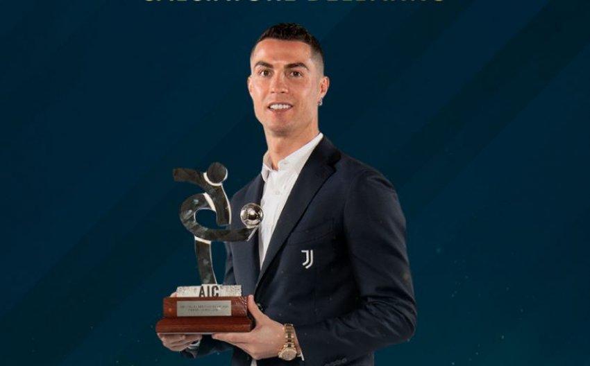 Cristiano Ronaldo shpallet futbollisti i vitit nga AIC