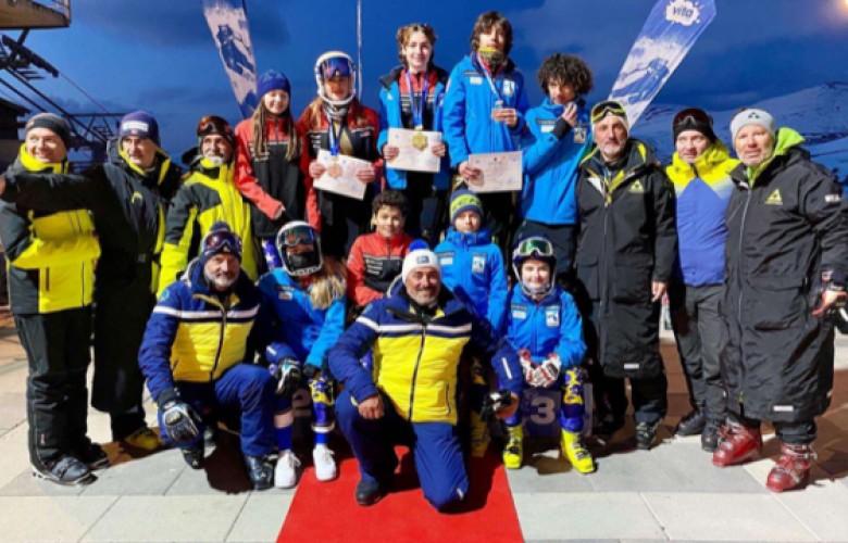 Kosova merr gjashtë medalje në garën ndërkombëtare të skijimit