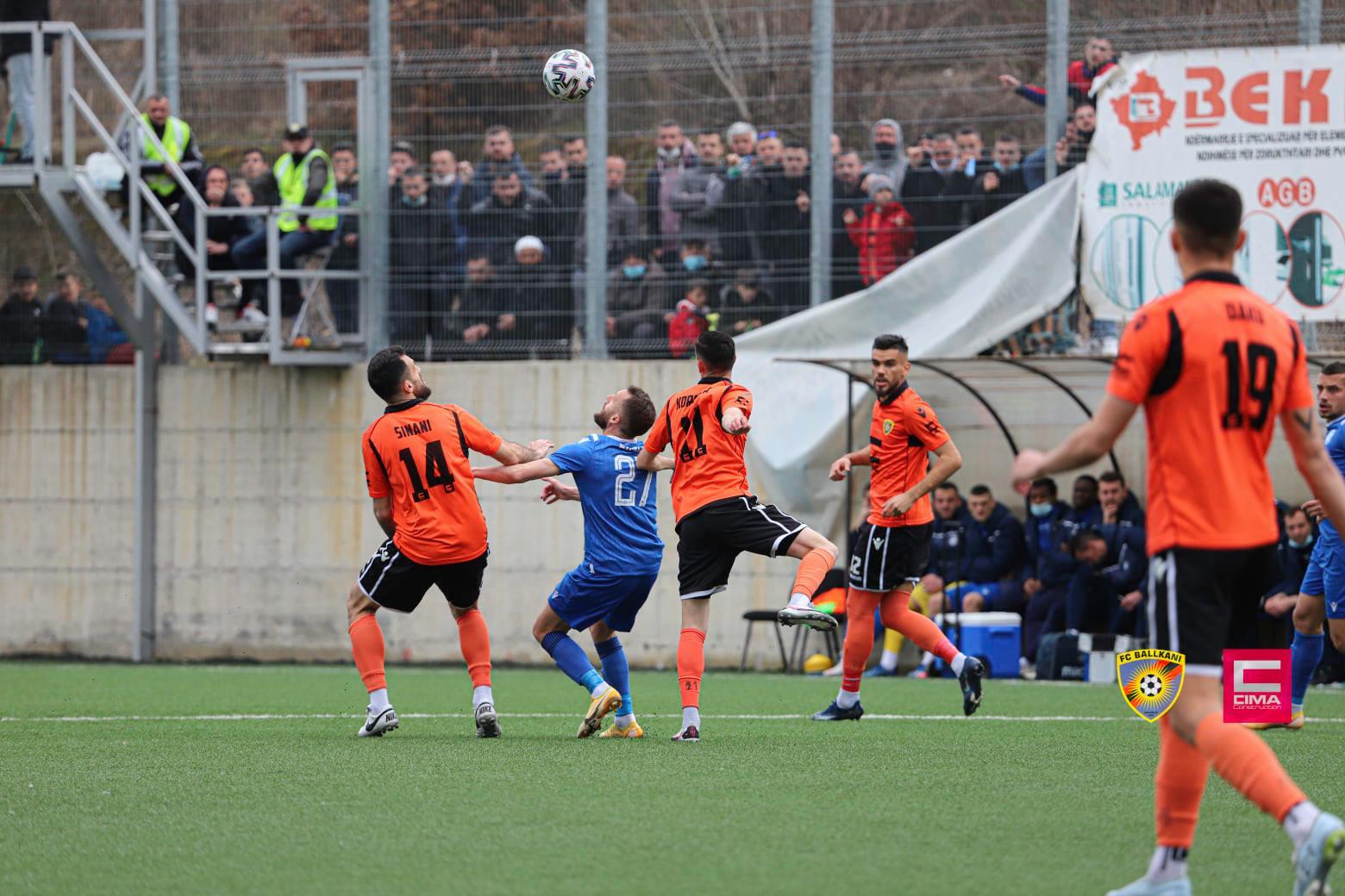 Superliga e Kosovës, Drenica e mposht Ballkanin