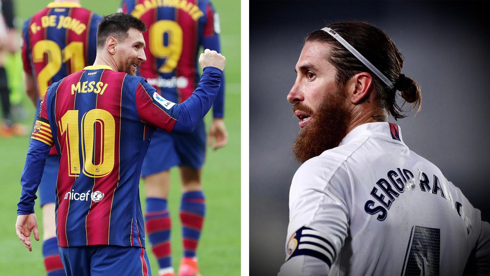 Sergio Ramos e dëshiron kalimin e Lionel Messit në Real Madrid