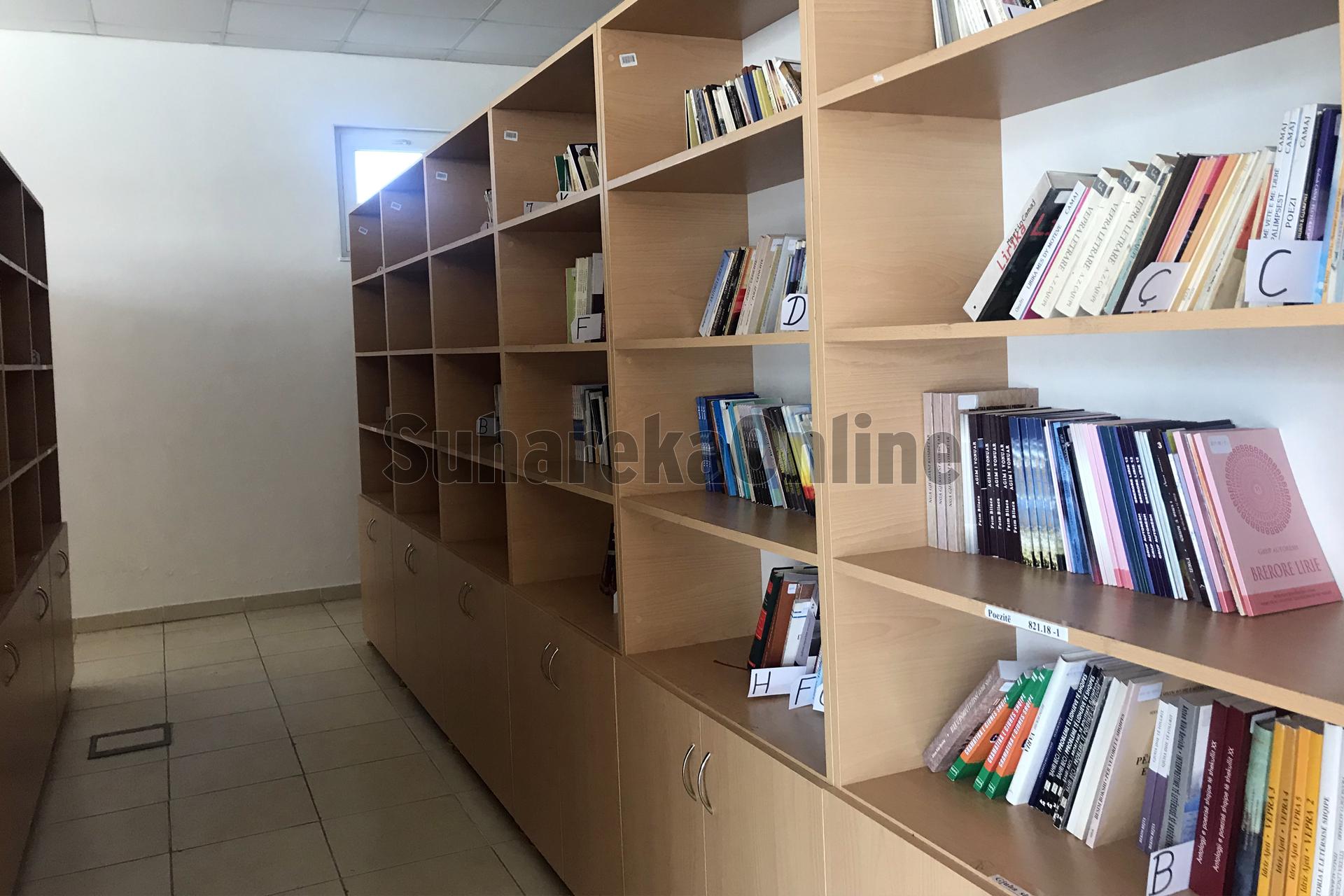 Pandemia COVID-19, rritet numri i shfrytëzuesve të sallës në bibliotekën e qytetit në Suharekë