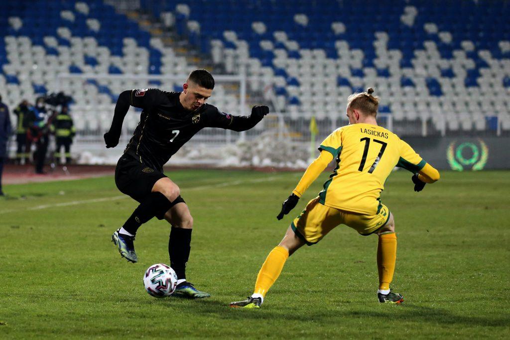 Rashica: Ndeshja me Lituaninë ishte test, fokusimi im është në ndeshjet e radhës