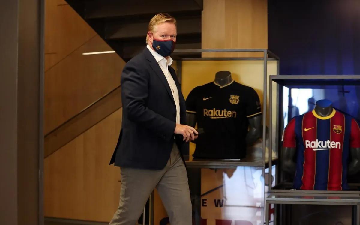 Koeman rrezikon shkarkimin nga posti i trajnerit te Barcelona