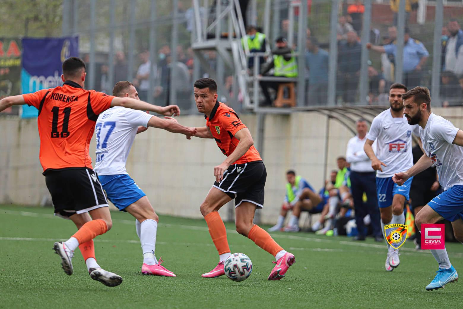 Të dielën ndeshje interesante në Superligë, Drenica – Ballkani