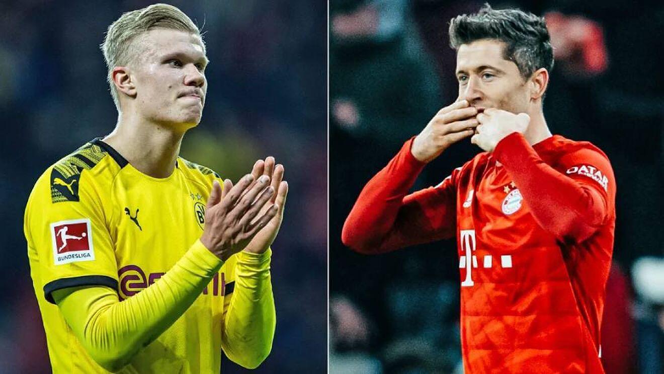 Lewandowski: Haaland do bëhet më i miri në botë, por pas meje!