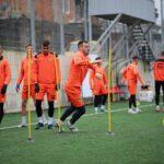 Ballkani zhvillon stërvitjen e fundit para ndeshjes ndaj Feronikelit