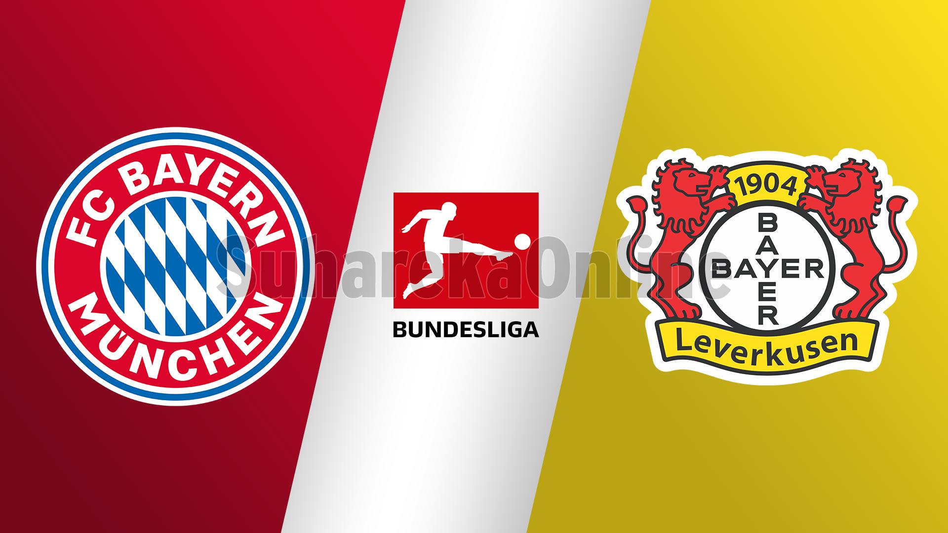 Bundesliga, Bayern Munich–  Bayer Leverkusen, formacionet zyrtare