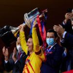 Messi: Është ndjenjë e veçantë të fitosh trofe si kapiten i Barcelonës