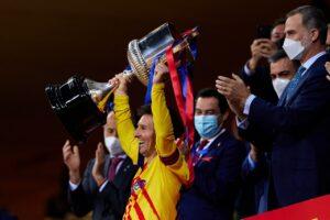 Messi nis negociatat me Barcelonën për rinovimin e kontratës