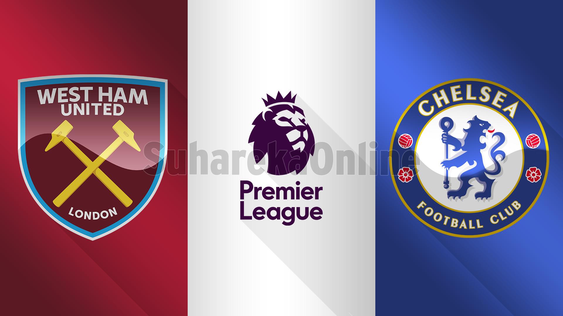 Premier Liga, West Ham United – Chelsea, formacionet e mundshme