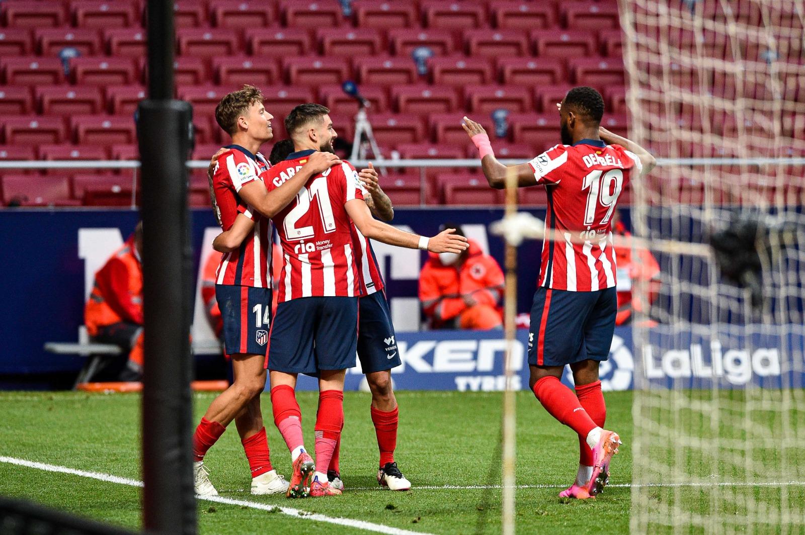 Atletico Madrid fiton ndaj Huescas dhe kthehet lider në La Liga