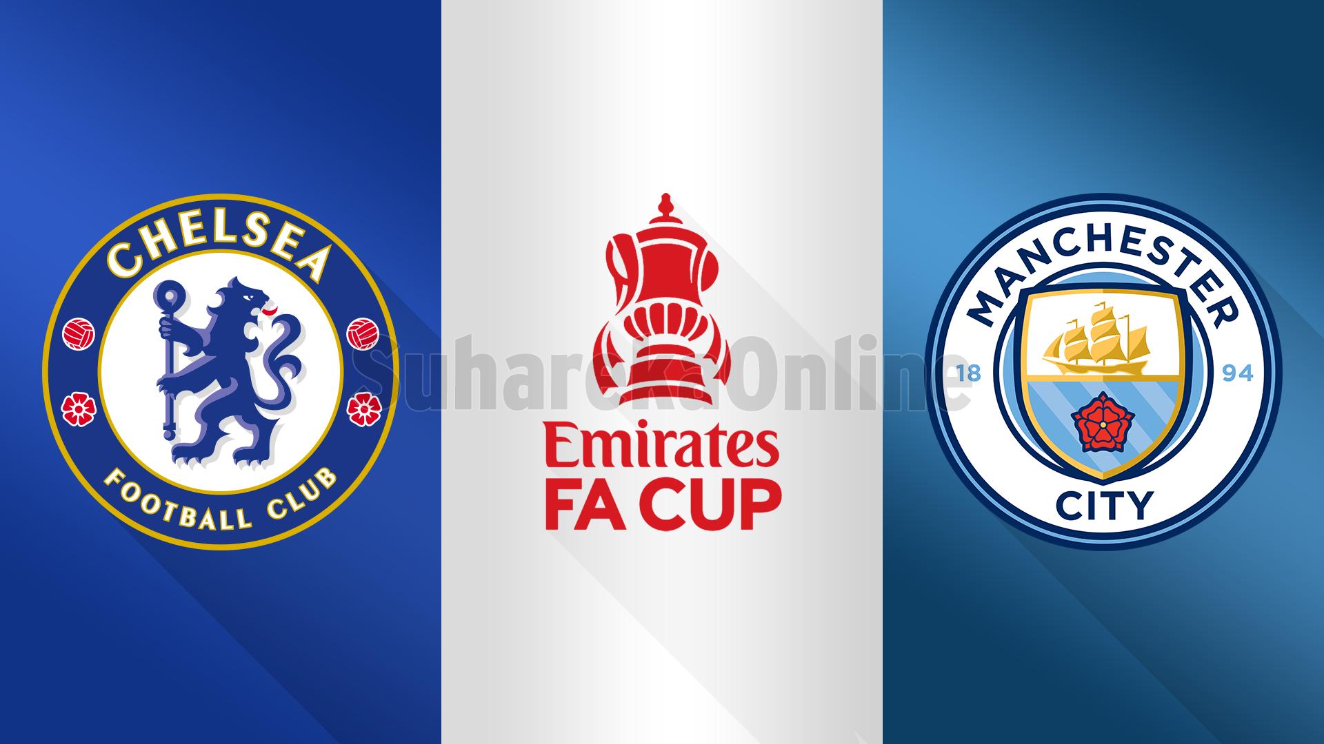 FA Cup, Chelsea – Manchester City, formacionet e mundshme